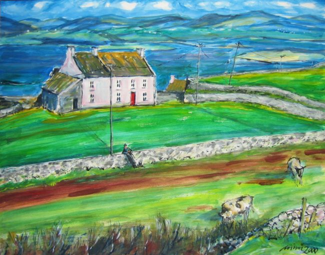 Cape Clear, West Cork, Irland