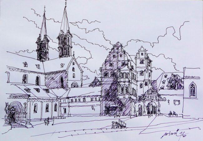 Bamberg Domplatz